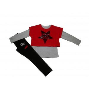 Σετ 2 Μπλούζες & Κολάν Παιδικό (#291.045.022+1#)