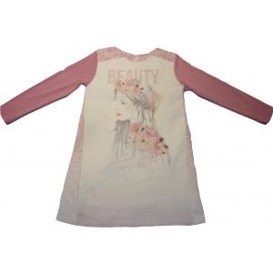Φόρεμα Μ/M (Ροζ) (Κωδ.291.86.439)
