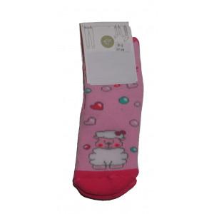 Αντιολισθητικές Κάλτσες Προβατάκι (Ροζ) (#304.064.002+3#)