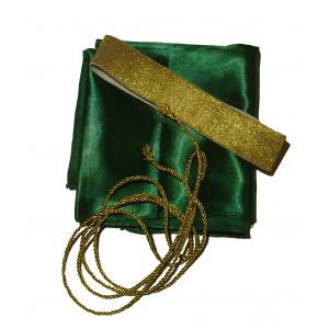 Μαντίλα Σατέν με λάστιχο (Πράσινο) (438.123.015)