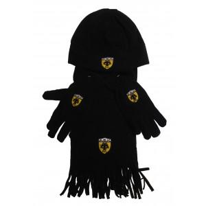 Σετ Σκούφος - Γάντια - Κασκόλ Φλις ΑΕΚ (#200.203.063+13#)