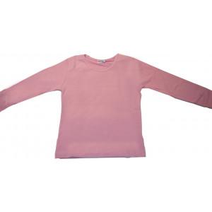 Μπλούζα Μονόχρωμη Φούτερ Λύκρα (ισοθερμικό) (Ροζ) (Κωδ.583.532.002) (Για Παραγγελία Άνω των 10 τεμ η τιμή είναι 6€)