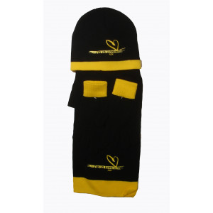 Σκούφος - Γάντια - Κασκόλ ΑΕΚ204 (Μαύρο) (#214.503.127+13#)
