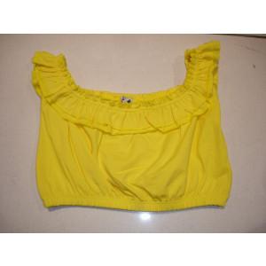 Μπλούζα Χ/Μ Κοντή (Κίτρινο) (Κωδ.291.16.037)