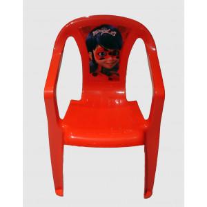 Καρεκλάκι Ladybug Πλαστικό (#744.001.002#)