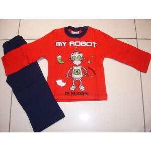 Πυζάμα Ρομπότ (Κόκκινο) (Κωδ.574.68.025)