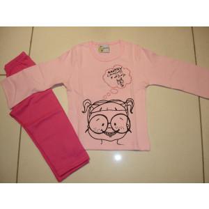 Πυζάμα Κορίτσι (Ροζ) (Κωδ.574.95.029)
