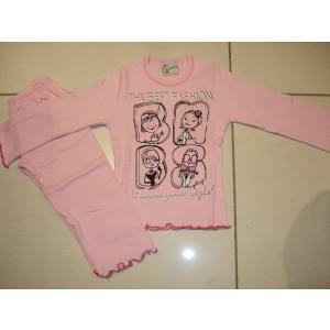 Πυζάμα Best Fashion (Ροζ) (Κωδ.574.95.028)