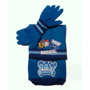 Σκούφος - Γάντια - Κασκόλ Paw Patrol (Ρουά Μπλέ) (#744.203.003+25#)