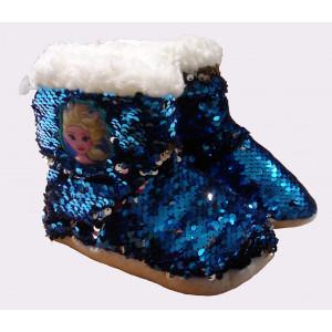 Παντόφλες - Μποτάκι Frozen Πούλια (Μπλε) (#744.349.006+6#)