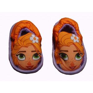 Παντοφλάκια Rapunzel με λάστιχο (Μωβ) (#744.349.000+17#)