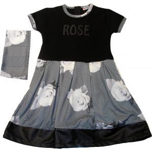 Φόρεμα Μ/M (Μαύρο) (Κωδ.291.86.458)