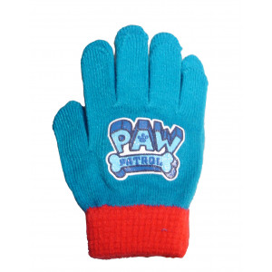 Γάντια Paw Patrol Πλεκτά (Ρουα Μπλε) (#744.090.002+25#)