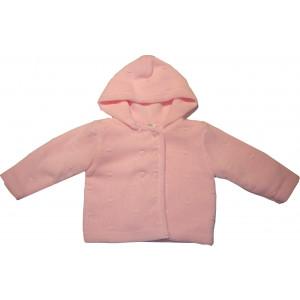 Ζακέτα Πλεκτή (Ροζ) (Κωδ.516.509.010)