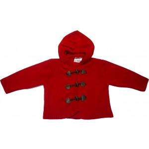 Ζακέτα Πλεκτή (Κόκκινο) (Κωδ.516.509.007)