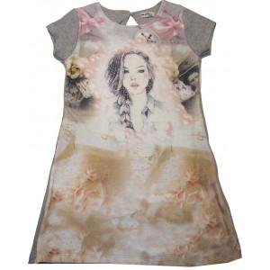 Φόρεμα Κ/M (Γκρι Ανοιχτό) (Κωδ.291.86.474)