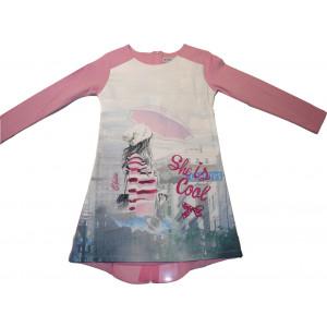 Φόρεμα Μ/M (Ροζ) (Κωδ.291.86.473)