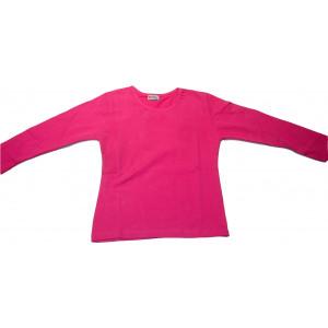 Μπλούζα Μονόχρωμη Φούτερ Λύκρα (Φουξ) (Κωδ.583.532.002) (Για Παραγγελία Άνω των 10 τεμ η τιμή είναι 6€)