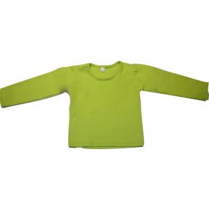 Μπλούζα Μονόχρωμη Φούτερ Λύκρα (Λαχανί) (Κωδ.583.532.002) (Για Παραγγελία Άνω των 10 τεμ η τιμή είναι 6€)