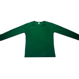 Μπλούζα Μονόχρωμη Φούτερ Λύκρα (Ισοθερμικό) (Πράσινο) (Κωδ.583.532.002) (Για Παραγγελία Άνω των 10 τεμ η τιμή είναι 6€)