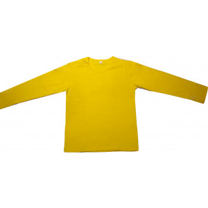 Μπλούζα Μονόχρωμη Φούτερ Λύκρα (Ισοθερμικό) (Κίτρινο) (Κωδ.583.532.002) (Για Παραγγελία Άνω των 10 τεμ η τιμή είναι 6€)