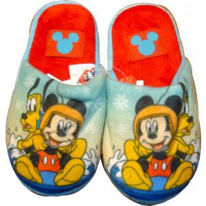 Παντόφλες Φλις Mickey (Σιελ) (Κωδ.200.149.014)