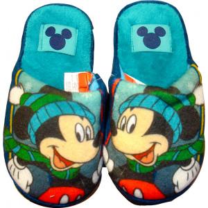 Παντόφλες Φλις Mickey (Μπλε) (Κωδ.200.149.014)