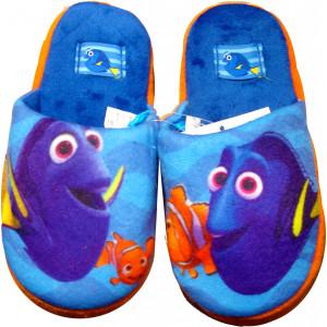 Παντόφλες Φλις Nemo (Σιελ) (Κωδ.200.149.015)
