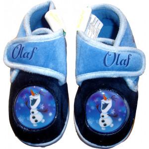 Παντόφλες - Μποτάκι Φλις Olaf (Μπλε) (Κωδ.200.149.018)
