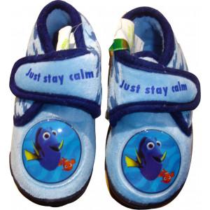 Παντόφλες - Μποτάκι Φλις Nemo (Μπλε) (Κωδ.200.149.019)