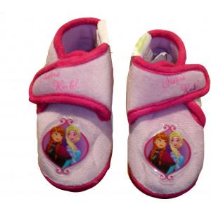 Παντόφλες - Μποτάκι Φλις Frozen (Φουξ) (Κωδ.200.149.018)