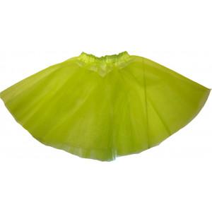 Φούστα Μπαλέτου Τούλινη (Λαχανί Ανοιχτό) (Κωδ.437.01.002)