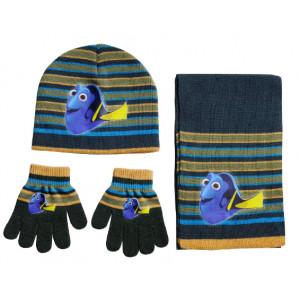 Σκουφάκι & Κασκόλ & Γάντια Nemo Disney (Χακί) (Κωδ.200.503.031)