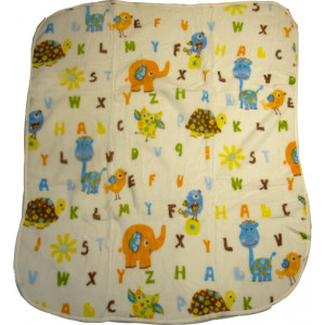 Κουβέρτα 85cm x 1.15cm (Σιελ) (Κωδ.582.93.002)