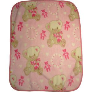 Κουβέρτα 85cm x 1.15cm (Ροζ) (Κωδ.582.93.003)