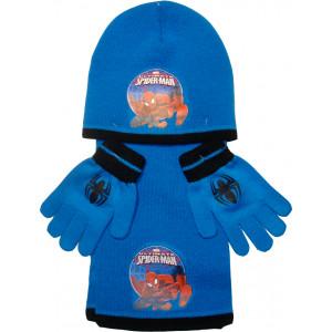 Σκουφάκι & Κασκόλ & Γάντια SpiderMan Disney (Μπλε Ρουά) (Κωδ.200.503.016)