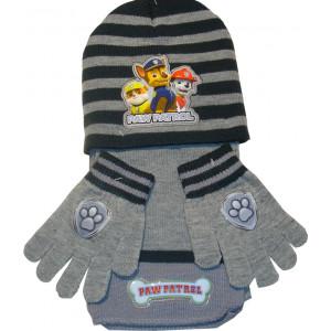 Σκουφάκι & Κασκόλ & Γάντια Paw Patrol Disney (Γκρι Ανοιχτό) (Κωδ.200.503.033)