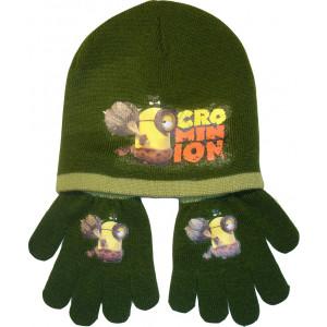Σκουφάκι & Γάντια Minions Disney (Χακί) (Κωδ.200.503.032)
