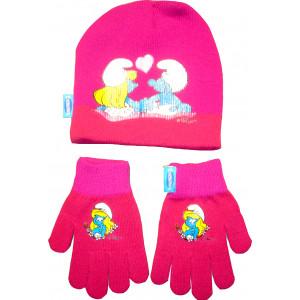 Σκουφάκι & Γάντια Πλεκτά Στρουμφάκι Disney (Κωδ.161.503.197)