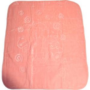 Κουβέρτα 1.00 cm x 1.20 cm Ανάγλυφη (Διάφορα Σχέδια) (Ροζ) (Κωδ.582.515.001)