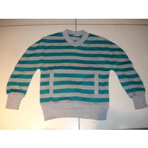 Μπλούζα Ριγέ Πλεκτή (Πράσινο) (Λεπτή Πλέξη) (Κωδ.291.18.159)