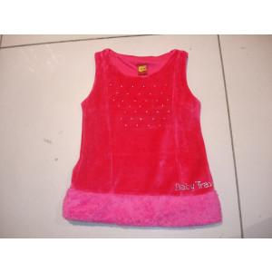 Φόρεμα Χ/Μ Βελουτέ (Φουξ) (Κωδ.077.86.015)