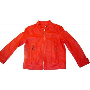 Μπουφάν Δερματίνη Παιδικο (Κόκκινο) (Κωδ.291.06.060)