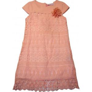 Φόρεμα X/Μ (Κηπούρ) (Σομόν) (Κωδ.291.87.494)