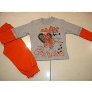Φόρμα Φούτερ (Πορτοκαλί) (Κωδ.118.39.208)