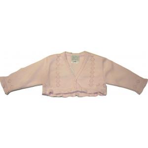 Μπολερό Πλεκτό (Ροζ) (Κωδ.516.52.022)