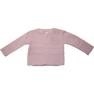 Ζακέτα Πλεκτή (Ροζ) (Κωδ.516.52.019)