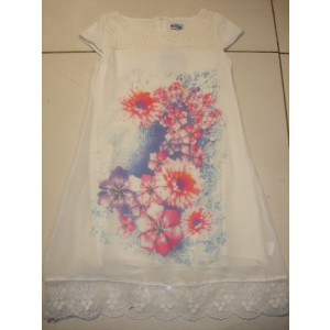 Φόρεμα Χ/Μ Παιδικό Δανδέλα (Άσπρο) (Κωδ.291.87.484)