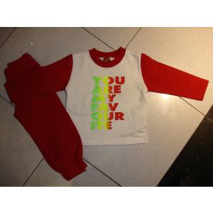 Φόρμα Φούτερ (Κόκκινο) (Κωδ.077.39.288)
