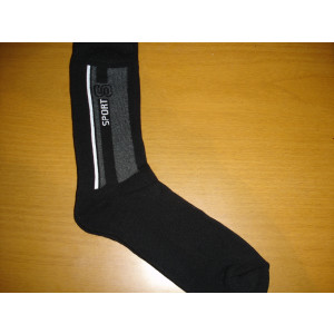 Κάλτσες Μπουρνουζέ (Μαύρο) (Κωδ.585.01.004)